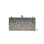 Authentic Pre Owned Jimmy Choo Celeste Glitter Clutch (PSS-070-00004) - Thumbnail 0