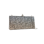Authentic Pre Owned Jimmy Choo Celeste Glitter Clutch (PSS-070-00004) - Thumbnail 1