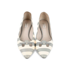Striped Pointy Ballerinas