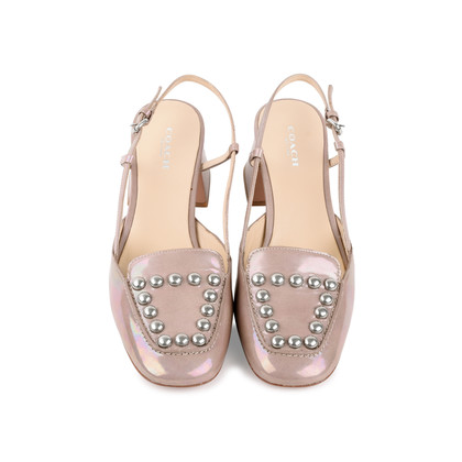 Authentic Second Hand Coach Stud Sling Flats (PSS-156-00056)