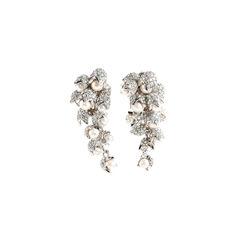 Pearl Drop Clip On Earrings