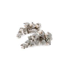 Balenciaga pearl drop clip on earrings 2?1524727300