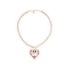 Chanel fall winter 2016 heart peace sign pendant 2?1524727324