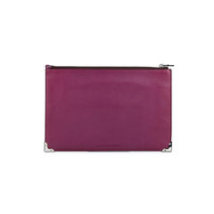 Alexander wang prism embossed ostrich flat clutch 3?1524727721