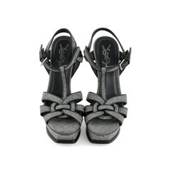 Grey Yves Flannel Tribute Heel