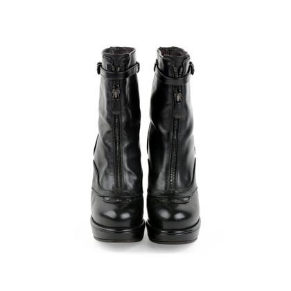 Authentic Second Hand Bottega Veneta Platform Boots (PSS-379-00003)