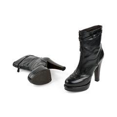 Bottega veneta black platform boots 2?1525060135