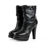 Authentic Second Hand Bottega Veneta Platform Boots (PSS-379-00003) - Thumbnail 3