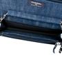 Chanel Denim Velvet Wallet On Chain - Thumbnail 5