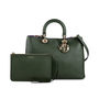Authentic Pre Owned Christian Dior Diorissimo Large Bag (PSS-240-00219) - Thumbnail 1