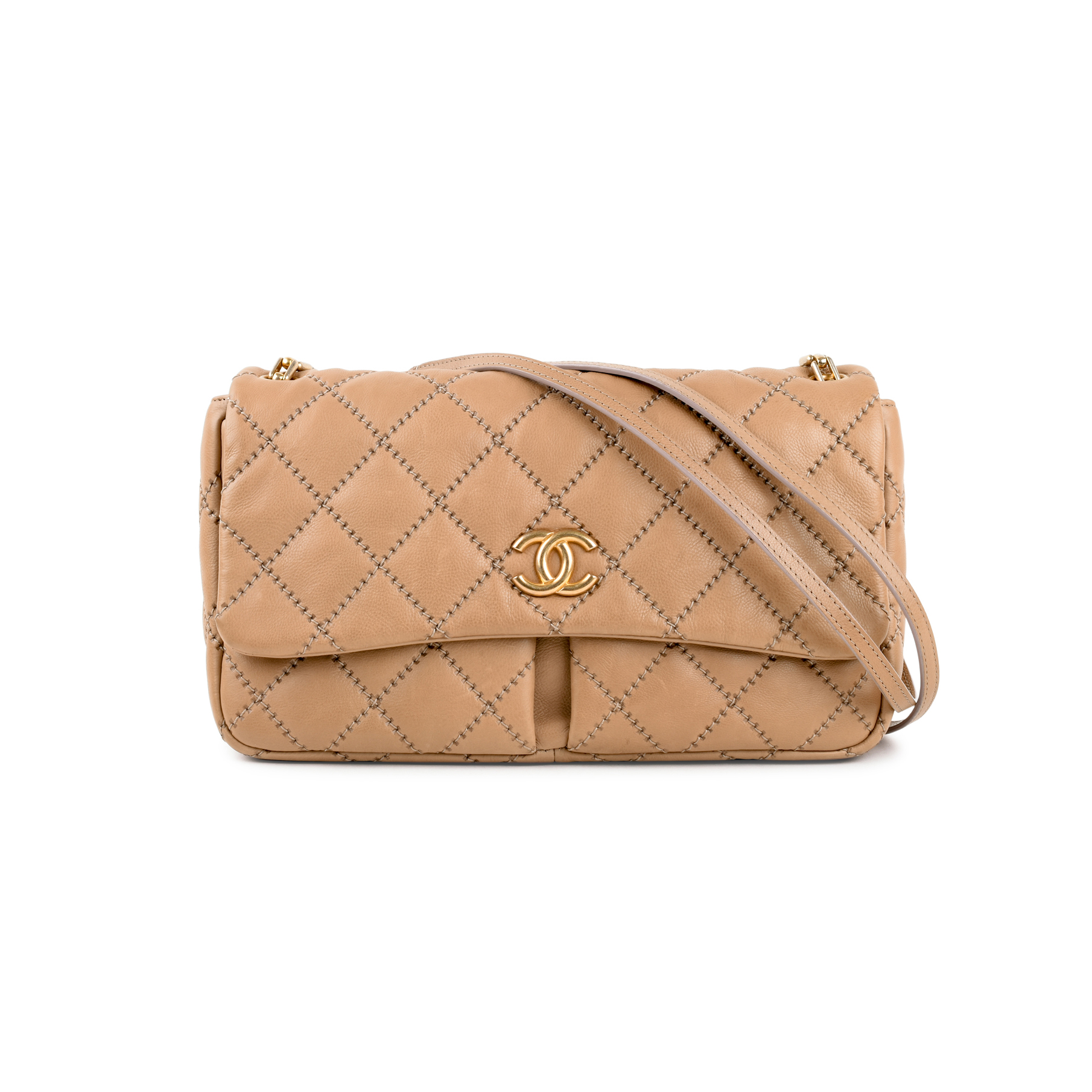 d405e8f9537f10 Authentic Second Hand Chanel Retro Chain Flap Bag (PSS-240-00217) | THE  FIFTH COLLECTION