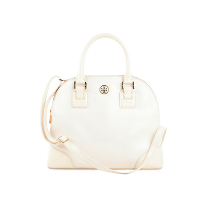 Authentic Second Hand Tory Burch Robinson Dome Satchel (PSS-225-00028)