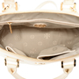 Authentic Second Hand Tory Burch Robinson Dome Satchel (PSS-225-00028) - Thumbnail 4