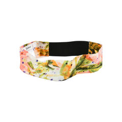 Erdem light abstract silk headband 2?1525325999
