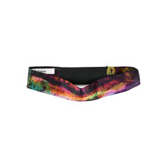 Dark Abstract Silk Headband