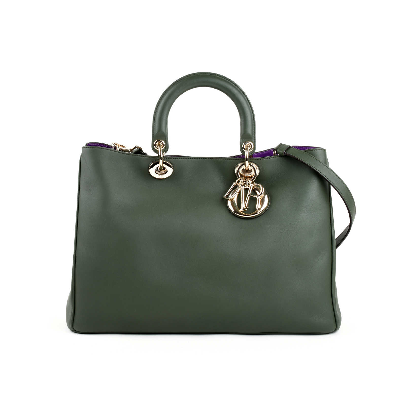 Authentic Pre Owned Dior Diorissimo Large Bag Pss 240 00219