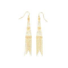 Fringe Tower Earrings