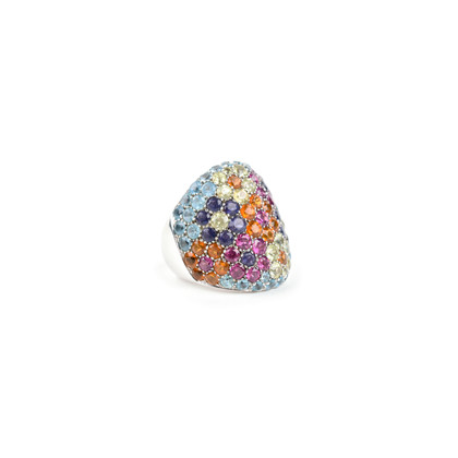 Authentic Second Hand Pasquale Bruni Floral Pave Cocktail Ring (PSS-071-00234)