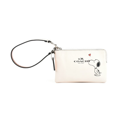 Authentic Second Hand Coach Peanuts Wristlet (PSS-099-00006)