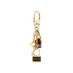 Louis vuitton padlock keychain metallic 2?1525411476