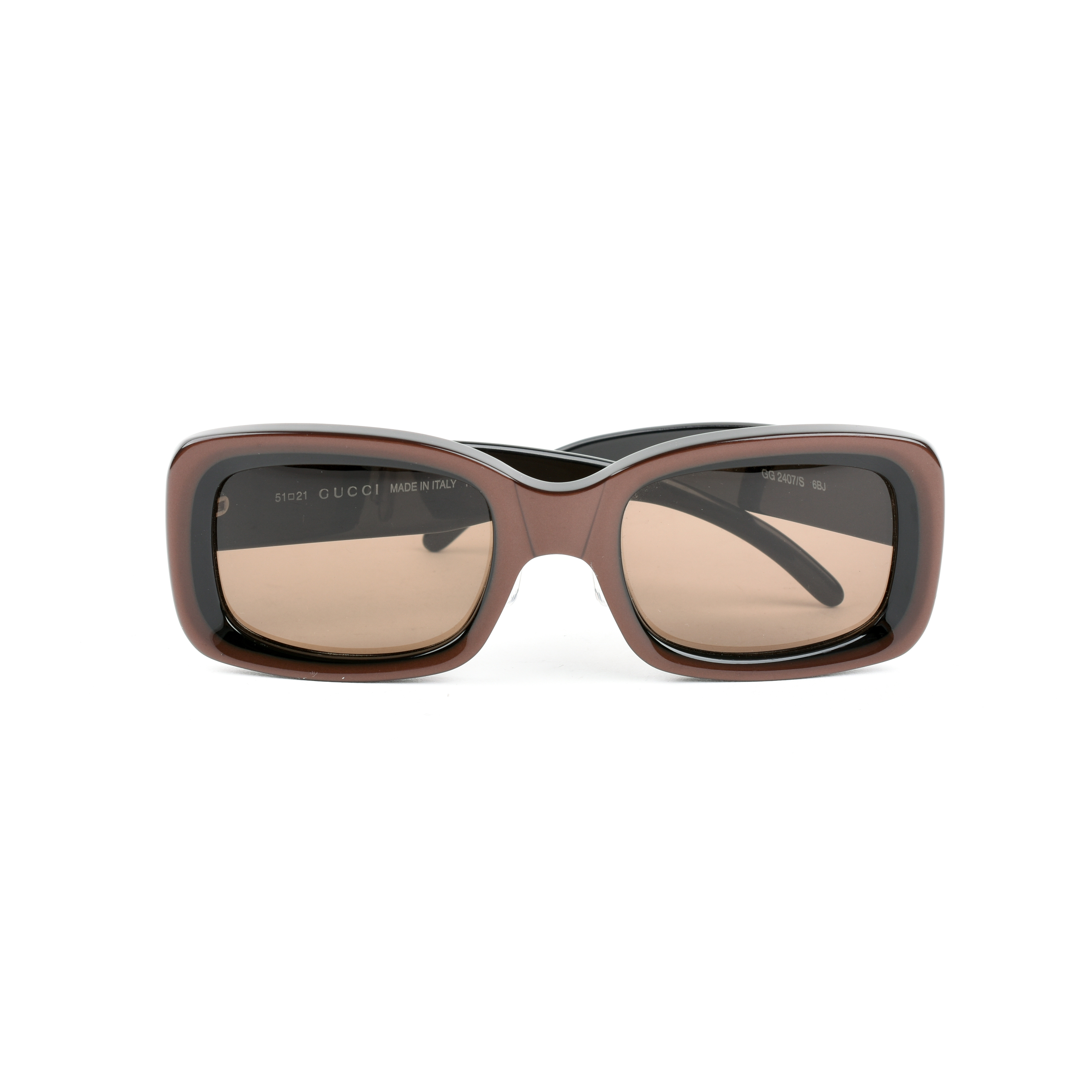 644bfcb47098c Authentic Second Hand Gucci Rectangular Frame Sunglasses (PSS-099-00014)