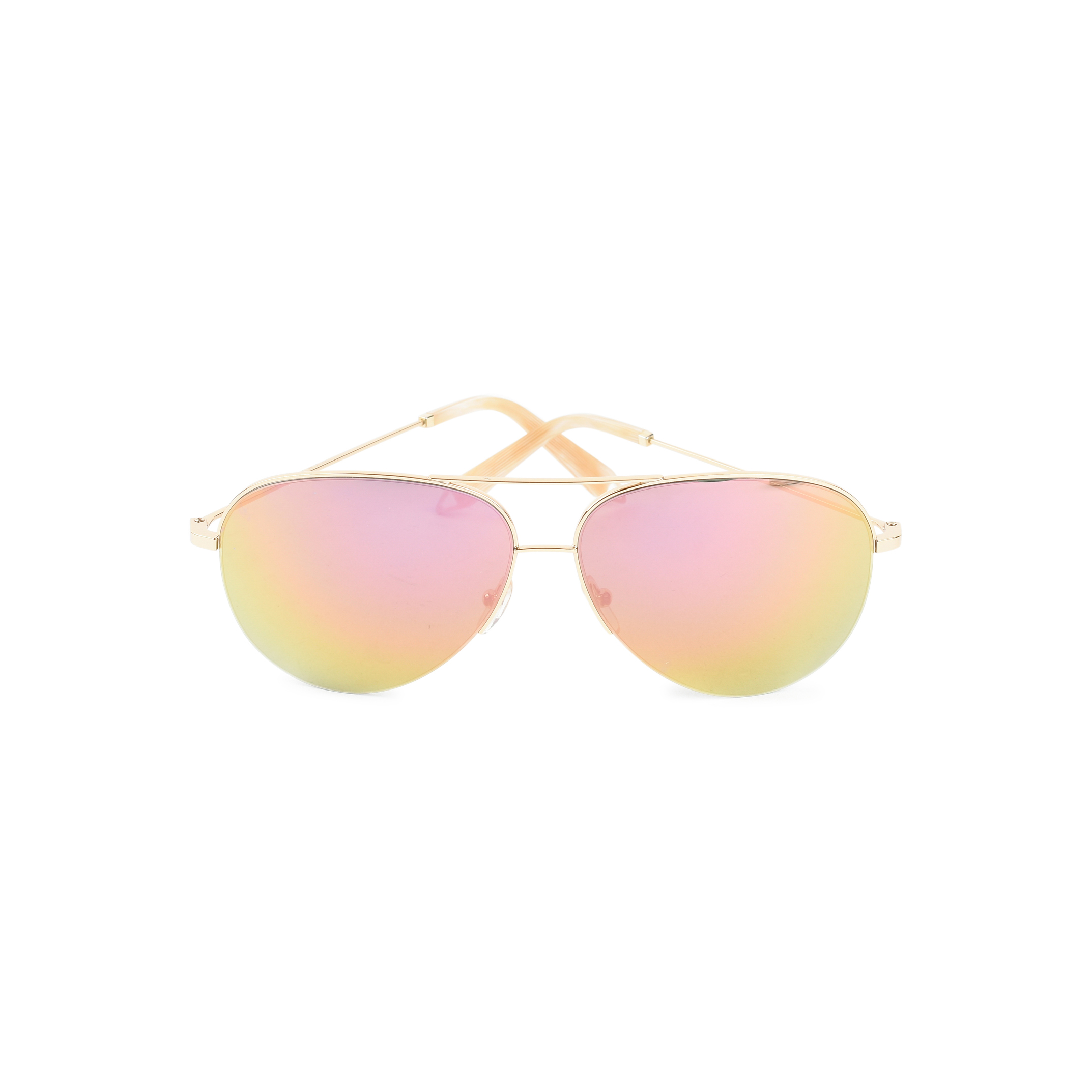 34f42798ee Authentic Second Hand Victoria Beckham Desert Rose Mirrored Sunglasses  (PSS-424-00063)