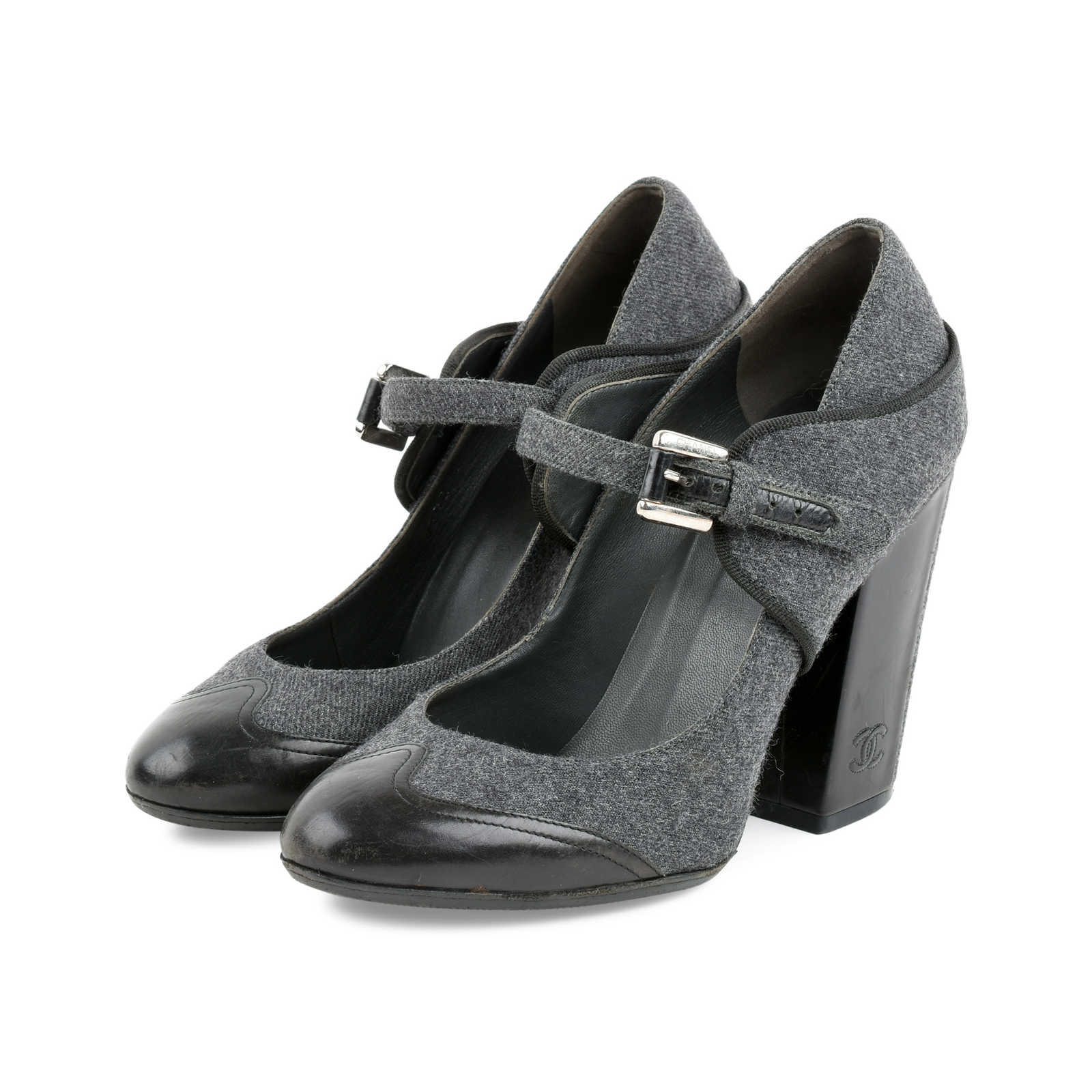 aab98aecf53 ... Authentic Second Hand Chanel Mary Jane Pumps (PSS-466-00013) - Thumbnail  ...