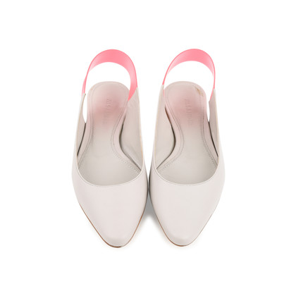 Authentic Second Hand Jil Sander Contrast Slingbacks (PSS-466-00043)
