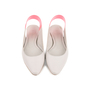 Authentic Second Hand Jil Sander Contrast Slingbacks (PSS-466-00043) - Thumbnail 0