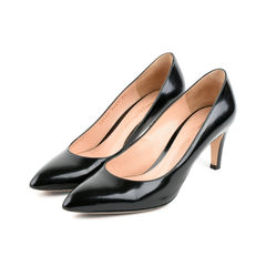 Gianvito rossi black patent pumps 2?1525675493