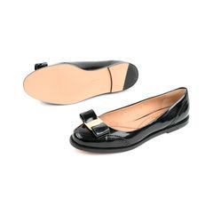 Salvatore ferragamo tolina patent leather flats 2?1525675531