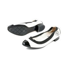 Chanel stretch spirit cap toe flats 2?1525675625