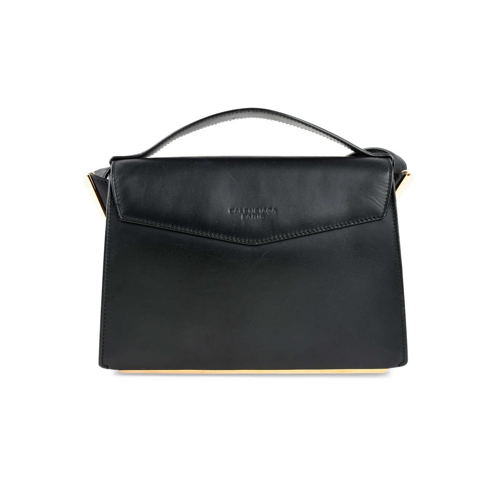 140e63668 ... Authentic Second Hand Balenciaga Tube-Clasp Crossbody Bag  (PSS-466-00004) ...