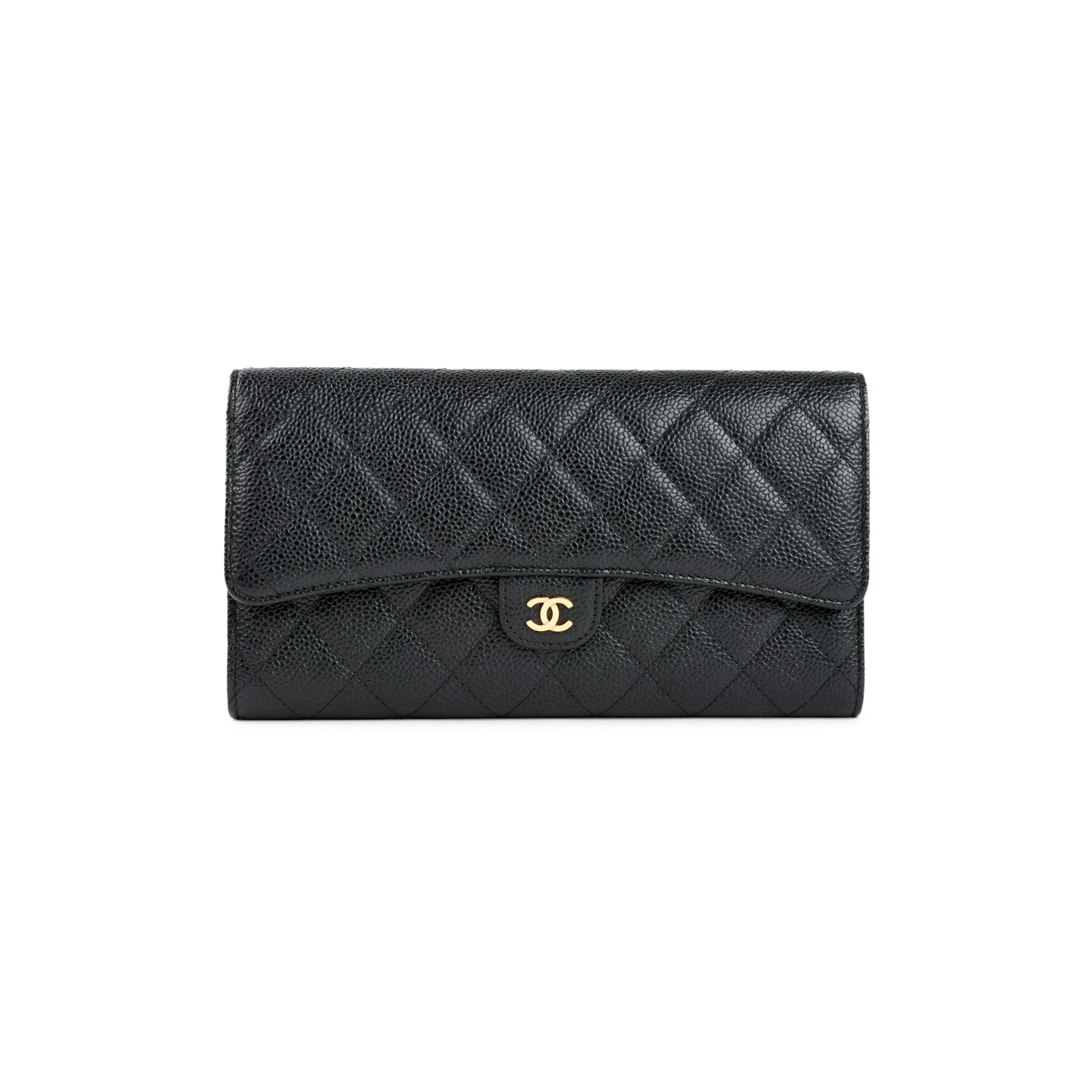 b4c1fe90621174 Authentic Second Hand Chanel Quilted Caviar Long Wallet (PSS-466-00002) |  THE FIFTH COLLECTION