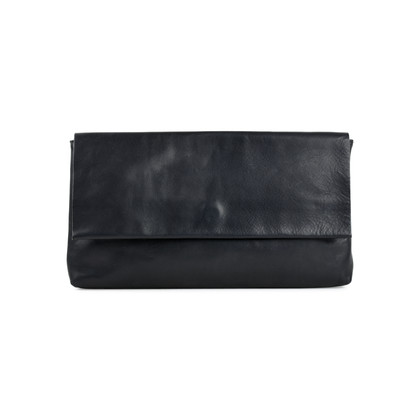 Authentic Second Hand Maison Martin Margiela Rope Tie Leather Clutch (PSS-466-00006)
