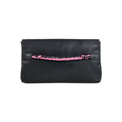 Maison martin margiela black leather clutch 2?1525677058