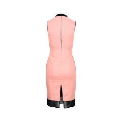 Cedric charlier pink gabardine dress 2?1525835815