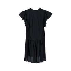 Chloe black ruffled blouse 2?1525836138