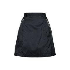 Zip Detail Mini Skirt