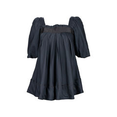 Pleat Flared Blouse