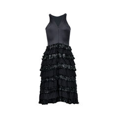 Emporio armani ruffled tiered dress 2?1525930758