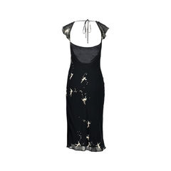 Moschino black fairy print dress 2?1525930936