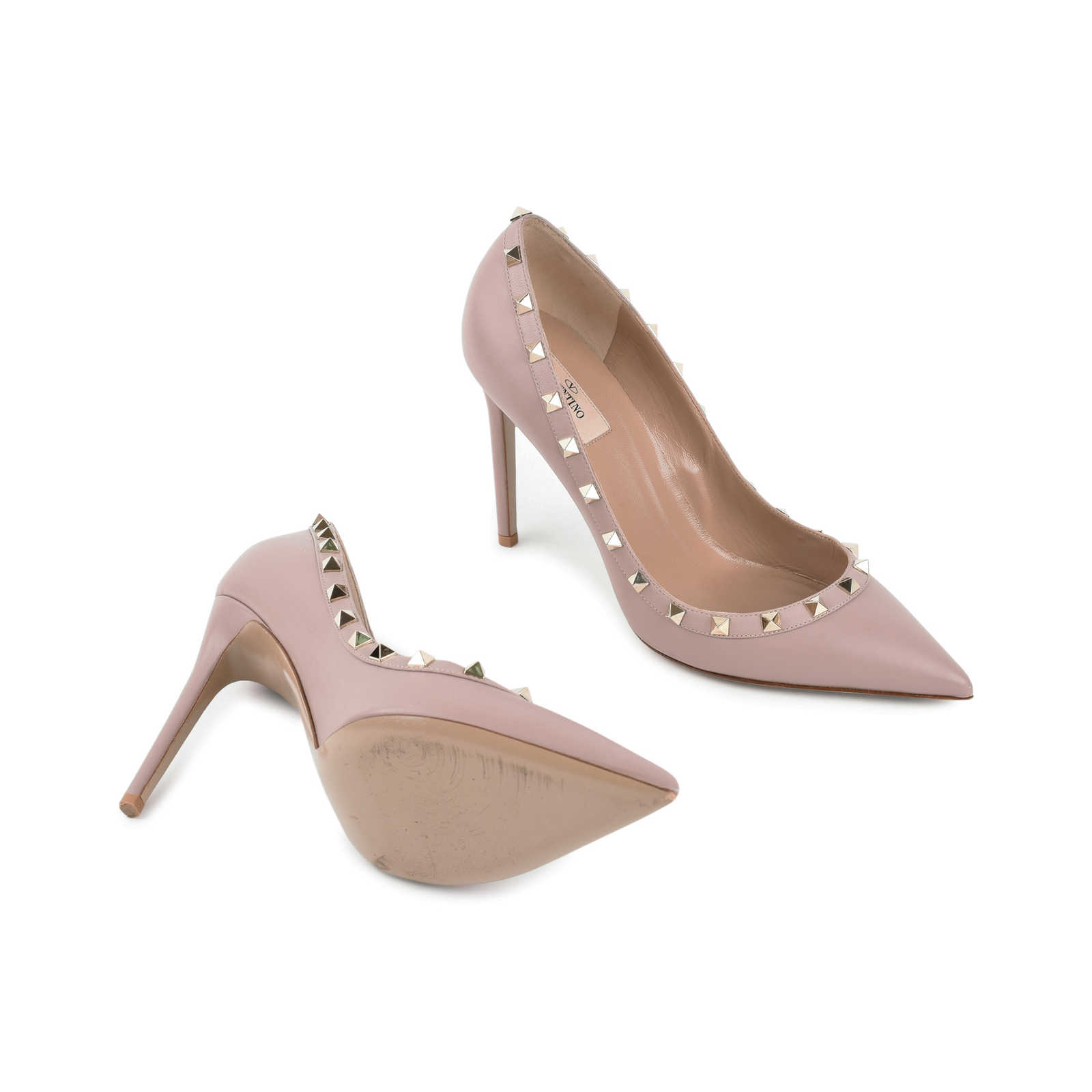 Authentic Pre Owned Valentino Rockstud Pumps Pss 470 00002 The