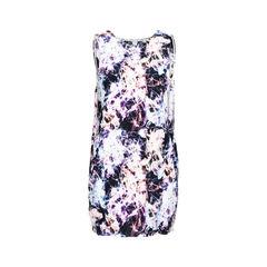 Orchid Sleeveless Slit-Side Dress