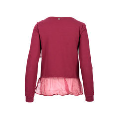 Liu jo red violet organza sweater 2?1526014705