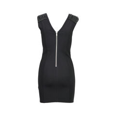 Pierre balmain rope shoulder dress 2?1526017936