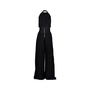 Authentic Second Hand Balmain Halter Pleated Jumpsuit (PSS-473-00012) - Thumbnail 1