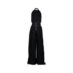 Balmain halter pleated jumpsuit 2?1526018146