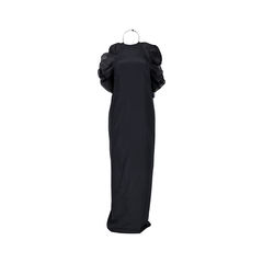 Gucci halter neck ruffled gown 2?1526018220