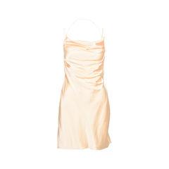 Silk-Satin Minidress